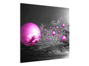 Obraz ružových gulí (V020108V7070)