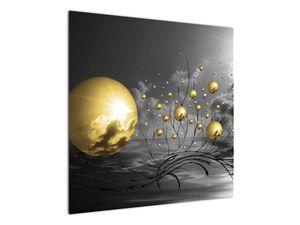 Okker gömbök képe (V020109V7070)