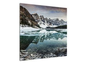 Tablou - lacul iarna (V020181V7070)