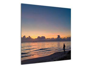 Kép egy nőről a tengerparton (V020204V7070)