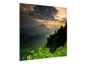Obraz - zelená horská krajina (V020249V7070)