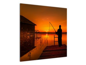 Tablou cu pescar (V020264V7070)