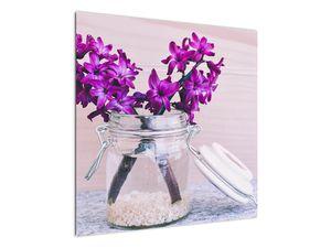 Obraz fialových květin (V020367V7070)