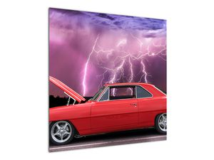 Slika crvenog automobila (V020409V7070)