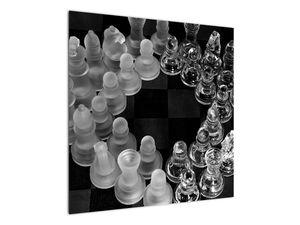 Obraz - černobílé šachy (V020598V7070)
