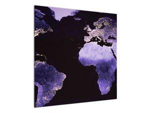 Tablou Pământului din Cosmos (V020649V7070)
