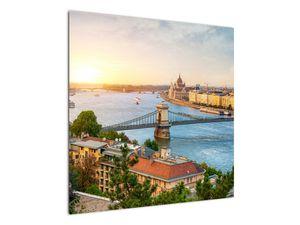 Obraz města Budapešť s řekou (V020712V7070)