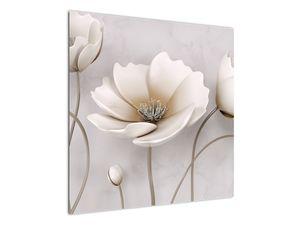 Fehér virágok képe (V020898V7070)