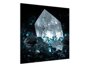 Schilderij - Kristal (V021107V7070)