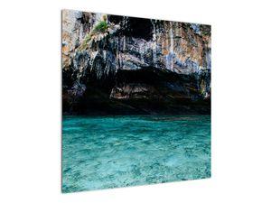 A víz és a sziklák képe (V021152V7070)