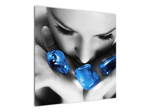 Slika portreta žene s kamenjem (V021283V7070)