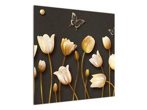 Obraz - Tulipány - abstraktné (V021347V7070)
