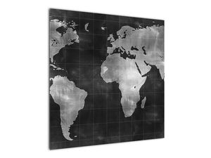 Obraz - Mapa světa (V021461V7070)