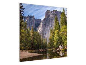 Kép - A Yosemite szikla alatt (V021691V7070)