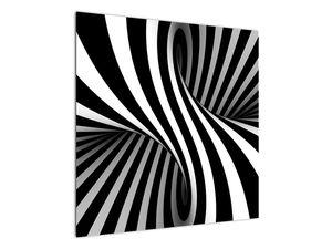 Absztrakt kép zebra csíkokkal (V021960V7070)