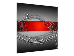 Abstraktionsbild (V022070V7070)
