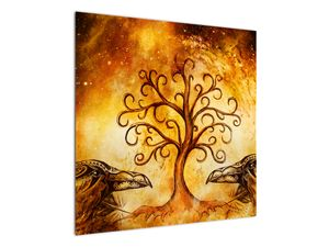 Naravna abstraktna slika drevesa (V022111V7070)