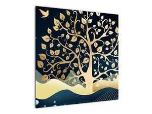 Slika zlatega drevesa (V022286V7070)