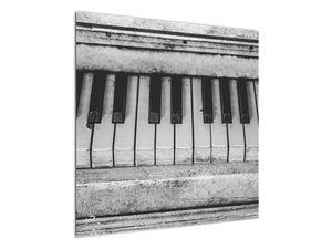 Egy régi zongora képe (V022562V7070)