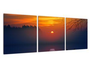 Híd képe naplementekor (V020012V9030)