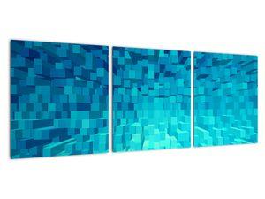 Obraz - abstraktní kostky (V020021V9030)
