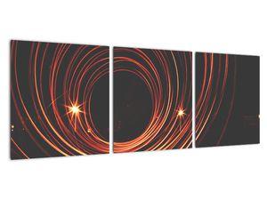 Obraz abstraktních linek (V020030V9030)