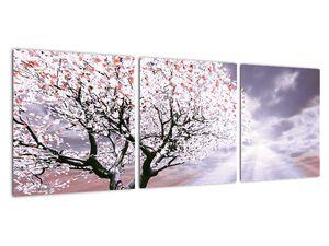 Červený obraz stromu (V020052V9030)
