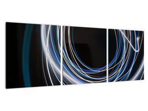 Tablou cu linii albastre (V020053V9030)