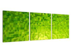 Obraz žlutozelených kostiček (V020057V9030)