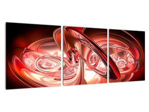 Obraz - červené tvary (V020064V9030)