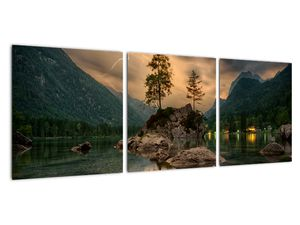 Obraz - jezero v horách (V020080V9030)