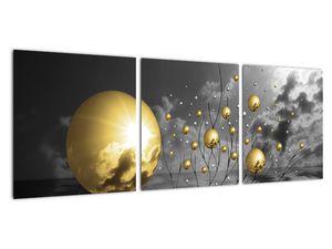 Okker gömbök képe (V020109V9030)
