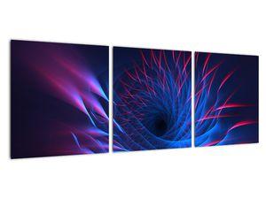 Obraz - abstrakce květu (V020148V9030)