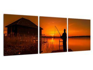 Tablou cu pescar (V020264V9030)
