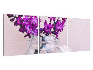 Obraz fialových květin (V020367V9030)