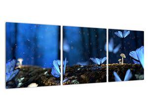 Obraz modrých motýlů (V020434V9030)