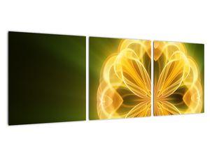 Obraz žluté květiny (V020451V9030)