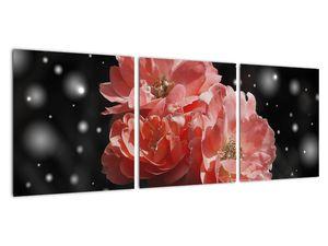Obraz růžové květiny (V020471V9030)