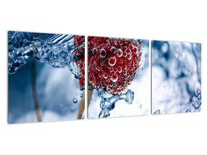 Kép - málna részlete a vízben (V020516V9030)