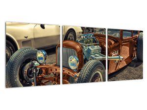 Obraz hnědého auta (V020538V9030)