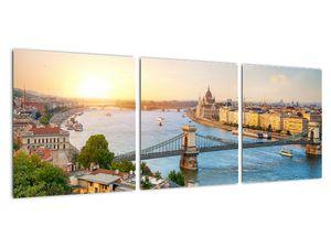 Obraz města Budapešť s řekou (V020712V9030)