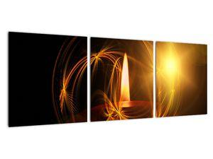 Tablou cu lumânare (V020812V9030)