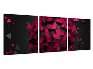 Obraz 3D abstrakce (V020866V9030)