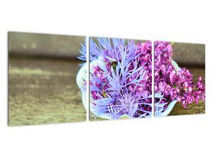 Obraz dekorace s levandulí (V020874V9030)