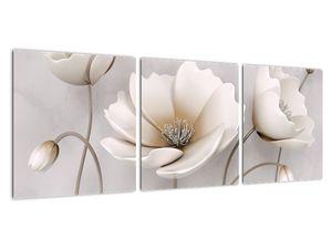 Obraz bílých květin (V020898V9030)