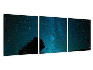 Obraz nočnej oblohy s hviezdami (V021100V9030)