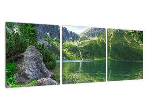 Obraz jezera v Tatrách (V021101V9030)