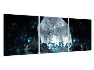 Schilderij - Kristal (V021107V9030)