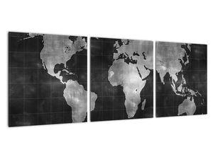 Obraz - Mapa světa (V021461V9030)
