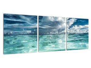 Obraz - Pohled pod mořskou hladinu (V021921V9030)